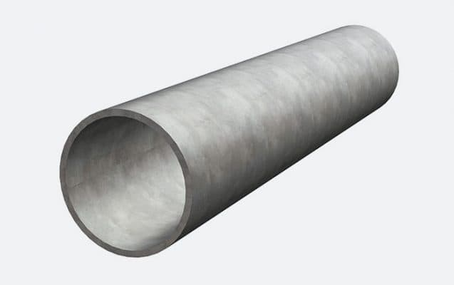 Tube galvanisé pour serre de jardin